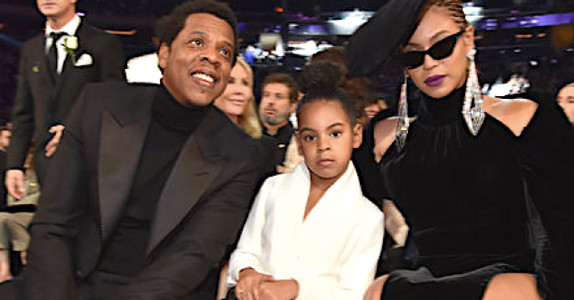 Watch Blue Ivy Bid $19,000 On Art Like It's No Big Deal