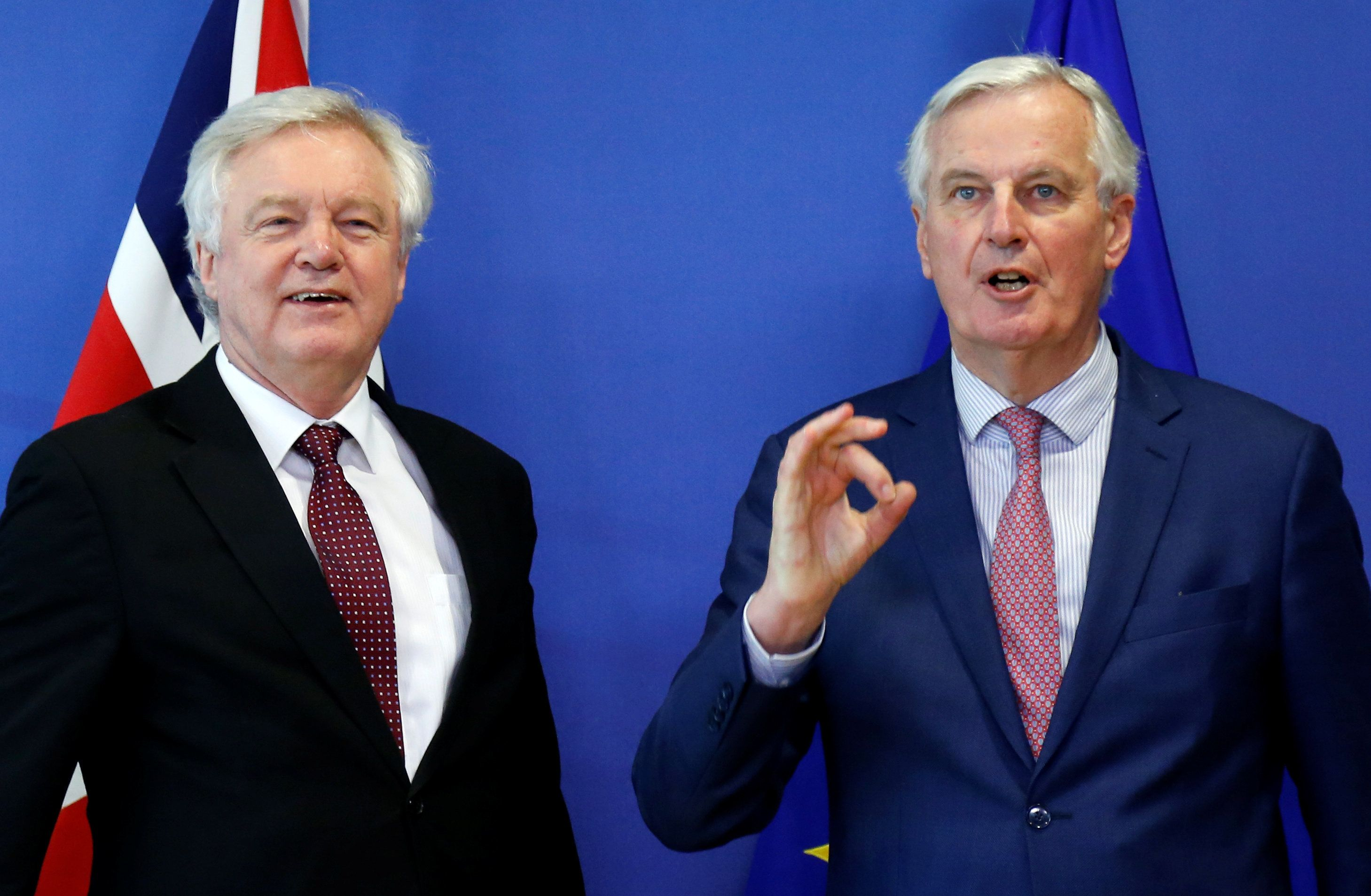 Britain, EU agree to terms on Brexit transition plan
