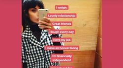 Jameela Jamil's 'I Weigh' Instagram Celebrates Body Positivity,