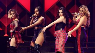 SUNRISE, FL - DECEMBER 17:  Fifth Harmony performs at Y100's Jingle Ball 2017 at BB&T Center on December 17, 2017 in Sunrise, Florida.  (Photo by John Parra/Getty Images for iHeartMedia)