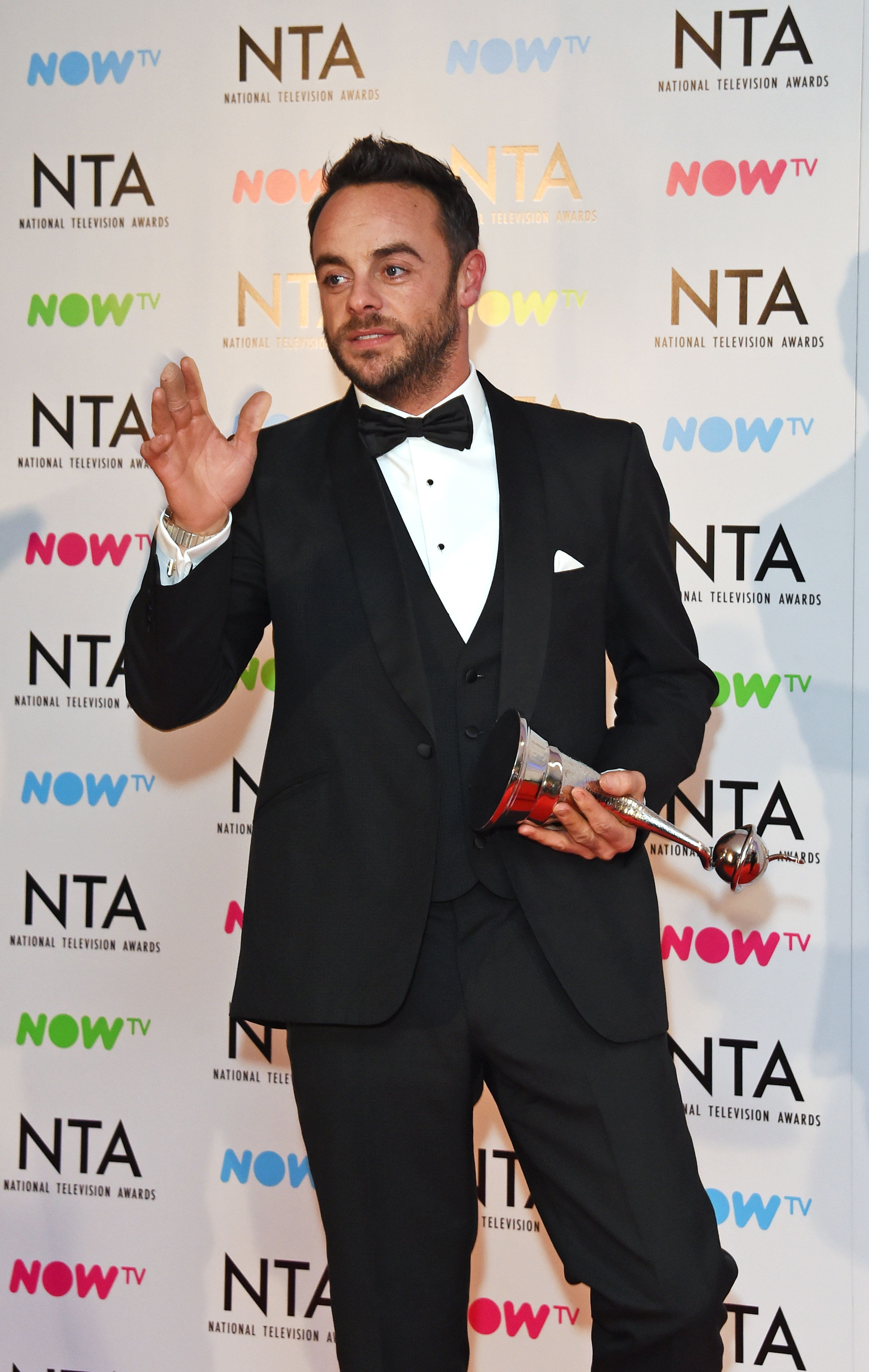 Ant McPartlin Charged With Drink-Driving, Metropolitan Police Confirm