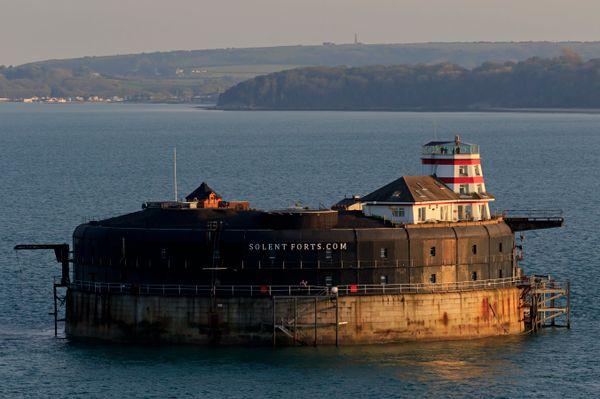 "No Man's Land Fort, aka <a href=""https://solentforts.com/no-mans-fort/"" target=""_blank"">No Man's Fort</a>, is a historic sea"