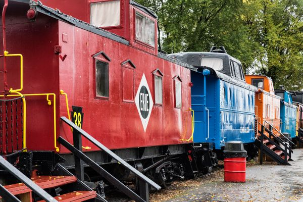 """All the cabooseunits at <a href=""""http://www.redcaboosemotel.com/"""" target=""""_blank"""">The Red Caboose Motel</a> in Ronks, P"""