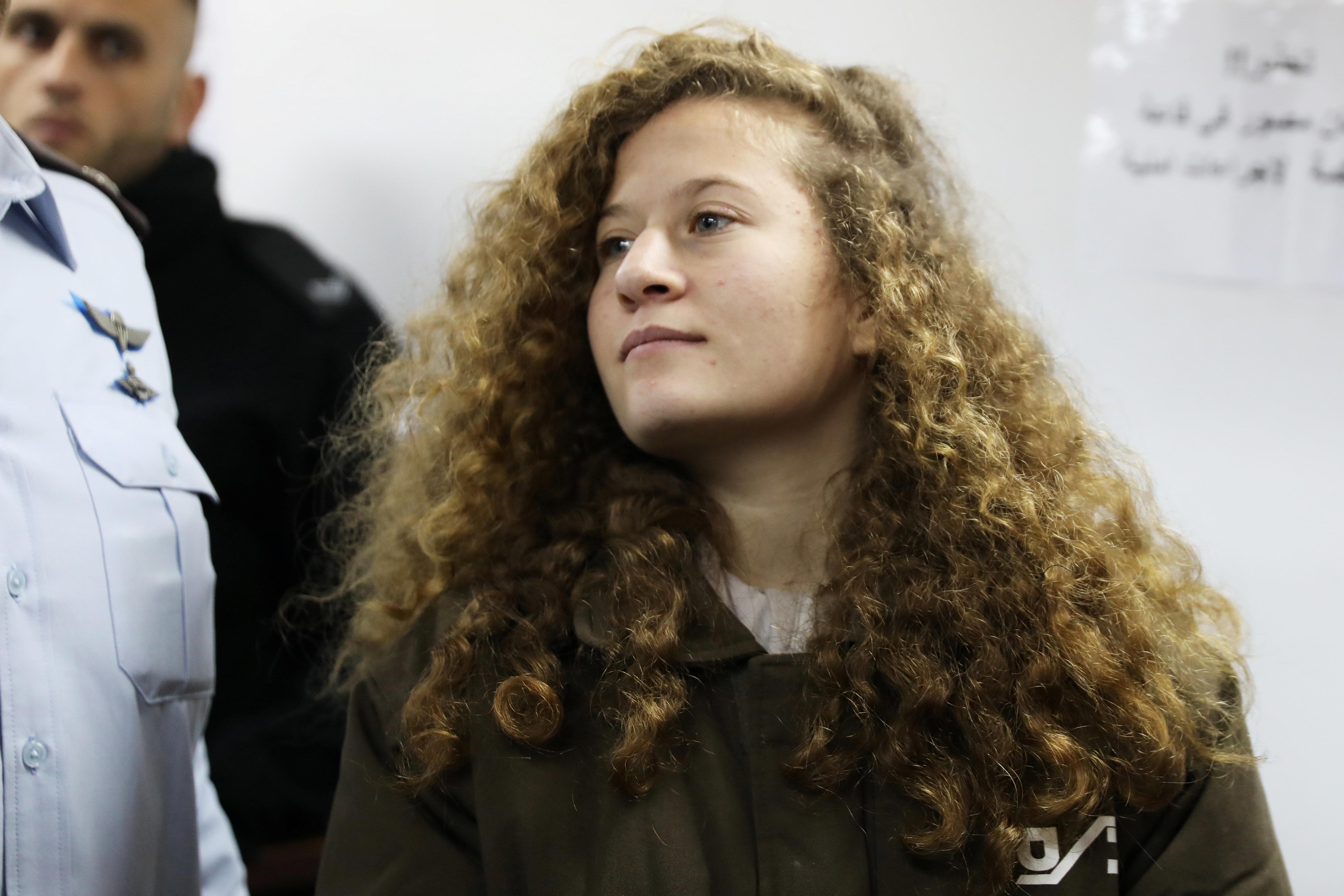 Israël Huit mois de prison pour la Palestinienne Ahed Tamimi