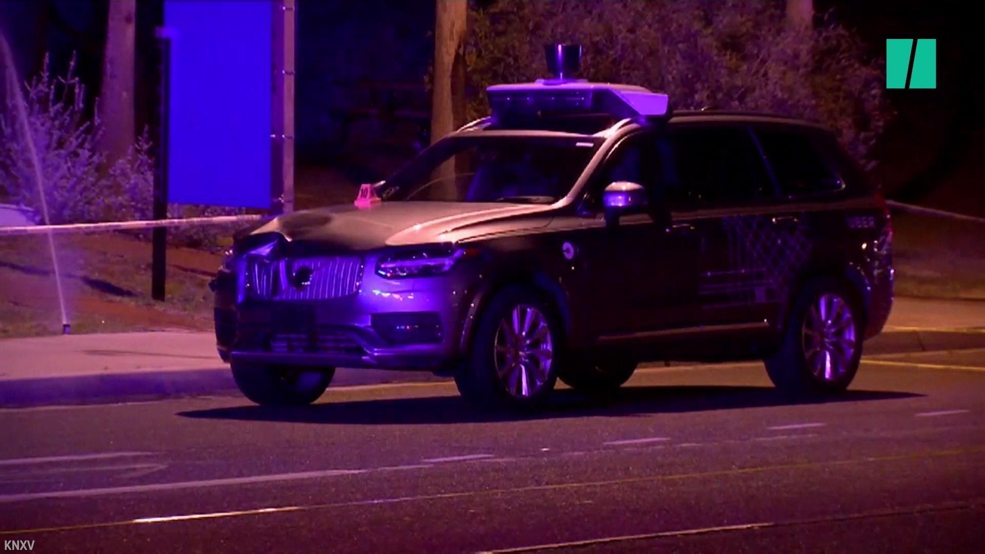 Self-Driving Car Crash Leaves 1 Dead