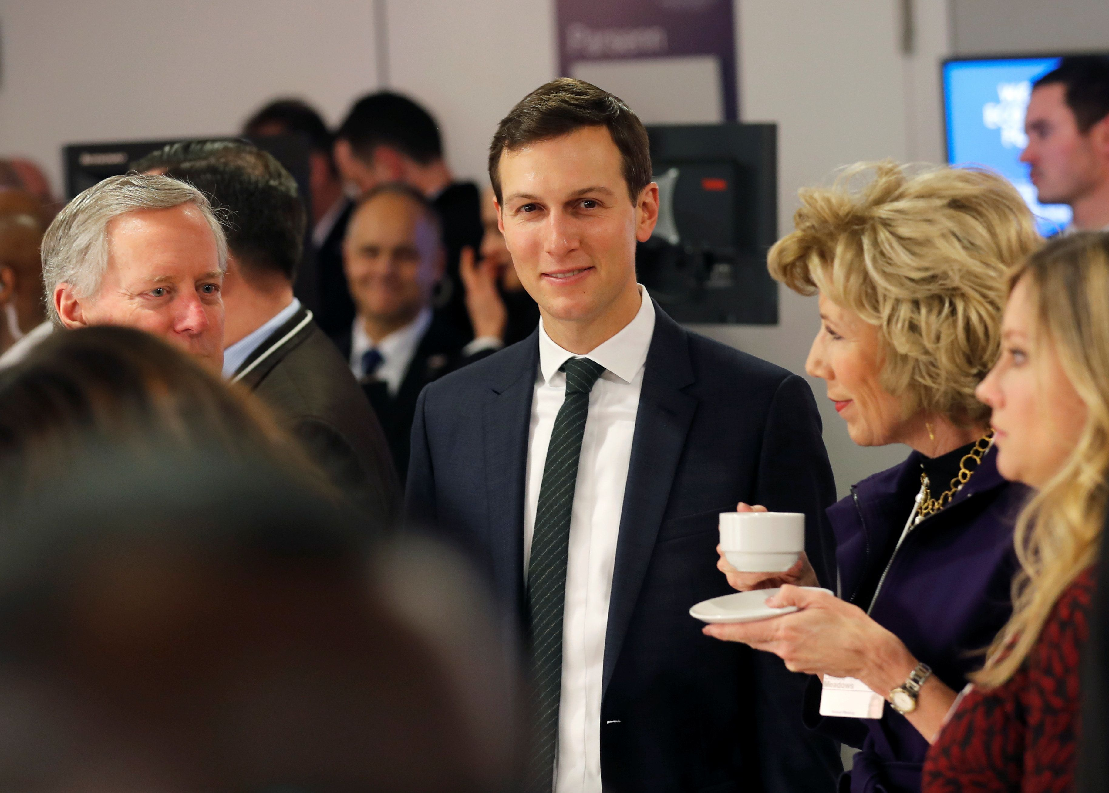 Senior Advisor to the U.S. President Donald Trump Jared Kushner attends the World Economic Forum (WEF) annual meeting in Davos, Switzerland January 25, 2018 REUTERS/Carlos Barria