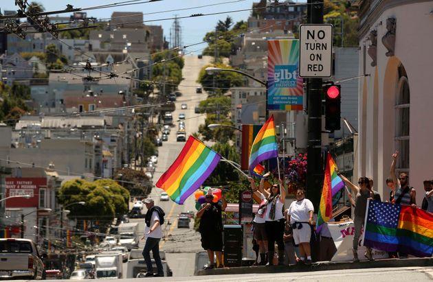 그림7. 미국 센트란시스코에 위치한 대표적인 게이 District, Castro