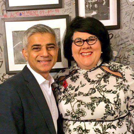 그림11. (좌) Sadiq Khan 런던시장, (우) 런던 제1대 Night Czar, Amy