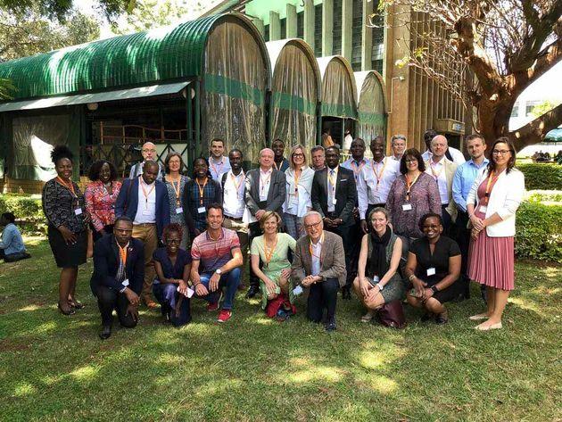 Die Teilnehmer der Silicon Savannah Learning