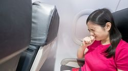 비행기 여행 중 감기가 걱정된다면 여기에
