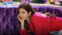 페미니스트 패션 아이템을 멋지게 소화한 한국 여자