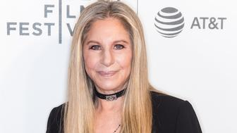 NEW YORK, NY - APRIL 29:  Singer-songwriter Barbra Streisand attends Tribeca Talks: Storytellers: Barbra Streisand With Robert Rodriguez during 2017 Tribeca Film Festival at BMCC Tribeca PAC on April 29, 2017 in New York City.  (Photo by Gilbert Carrasquillo/FilmMagic)