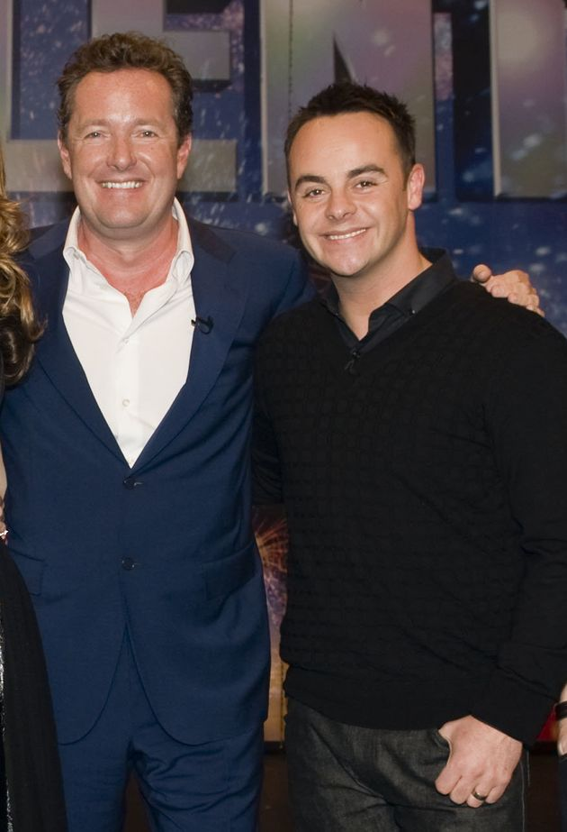 Piers Morgan with Ant