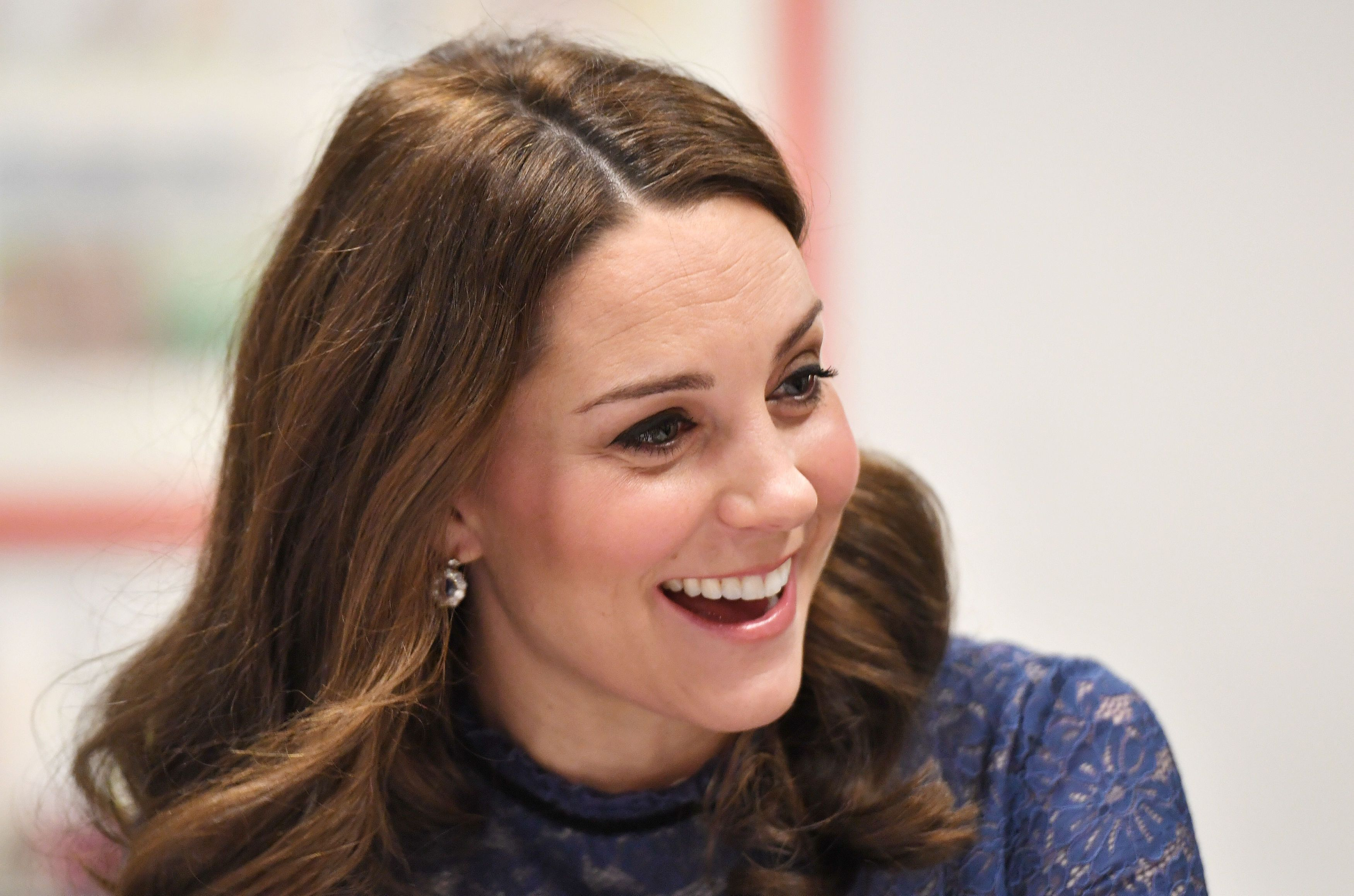 Kate Middleton Shows off Baby Bump in Spring-Ready Ensemble