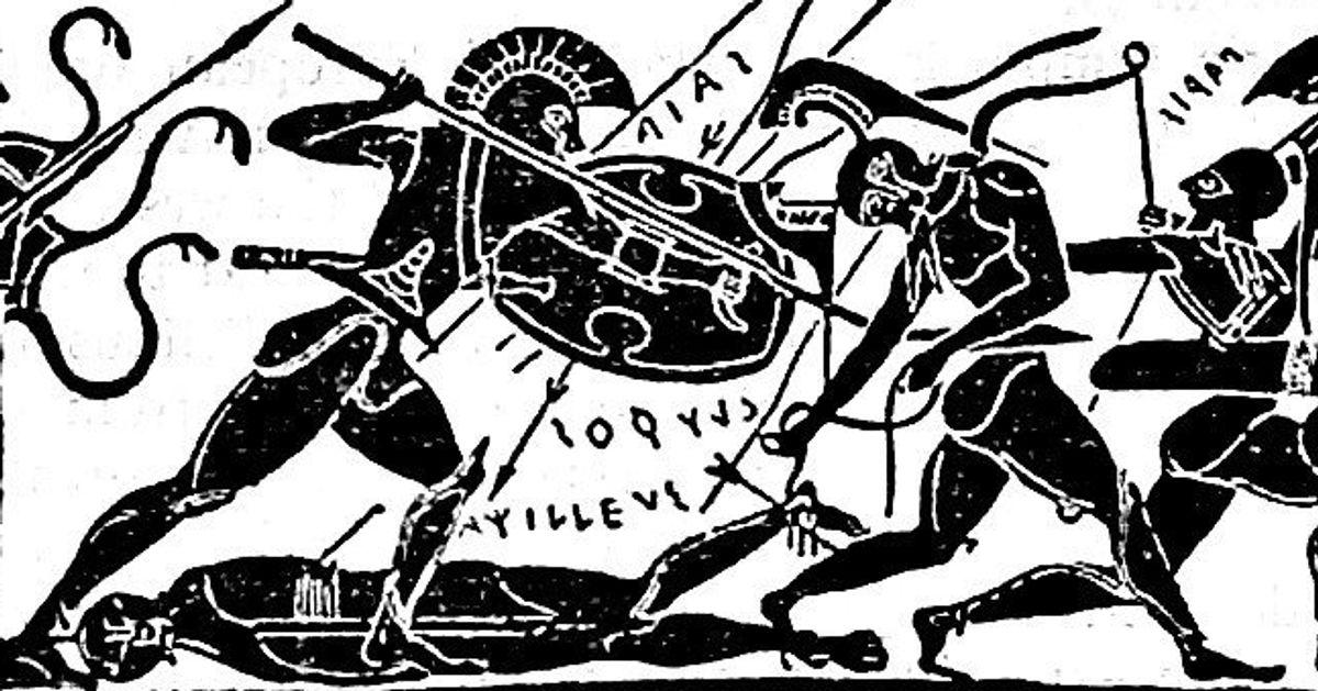 Ο μαύρος Αχιλλέας και το παρελθόν σαν αντανάκλαση του εαυτού μας