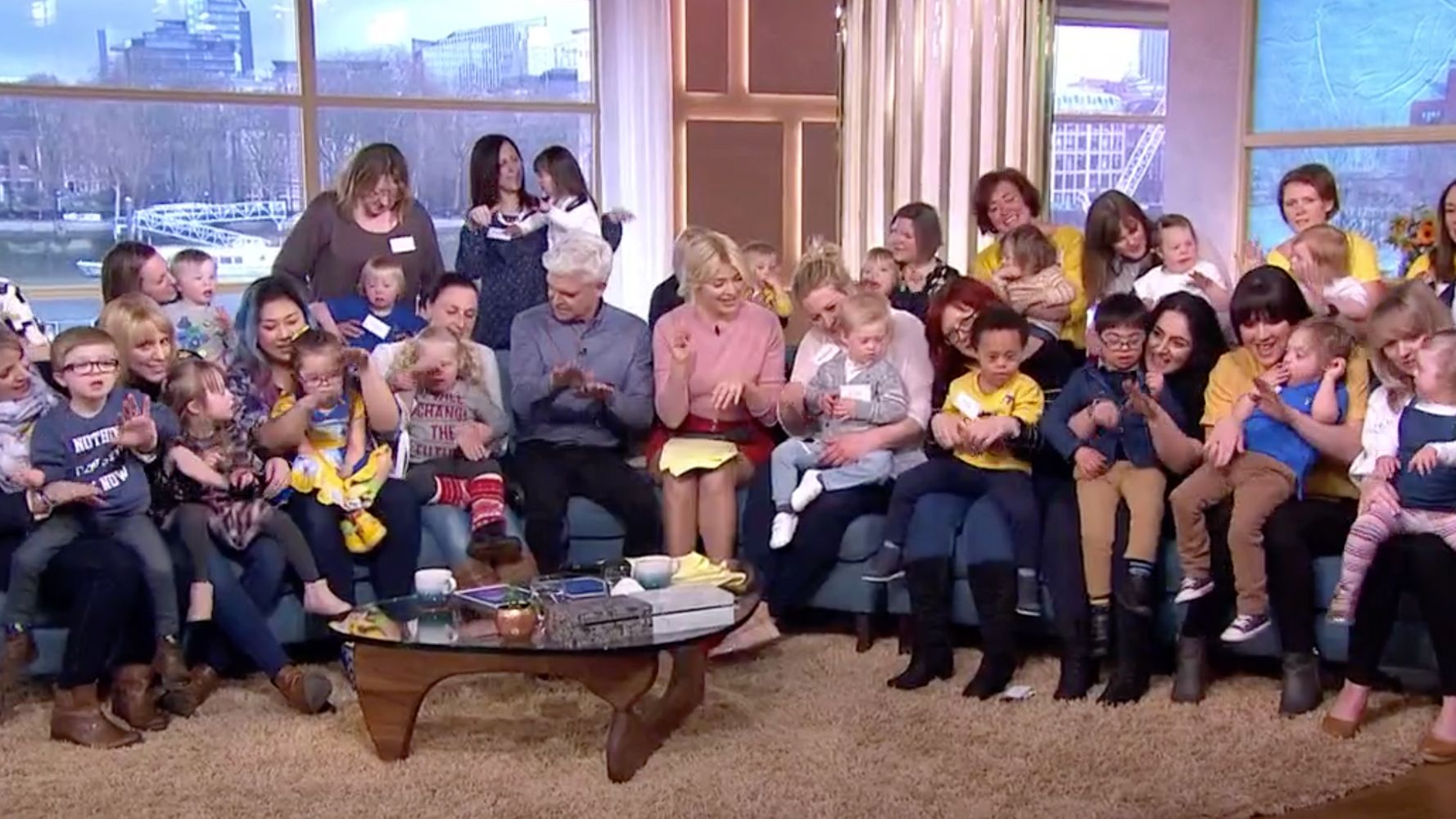 Holly Willoughby And Phillip Schofield Join Mums Of Children With