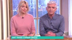 Holly Willoughby And Phillip Schofield 'Shocked And Saddened' By Friend Ant McPartlin's