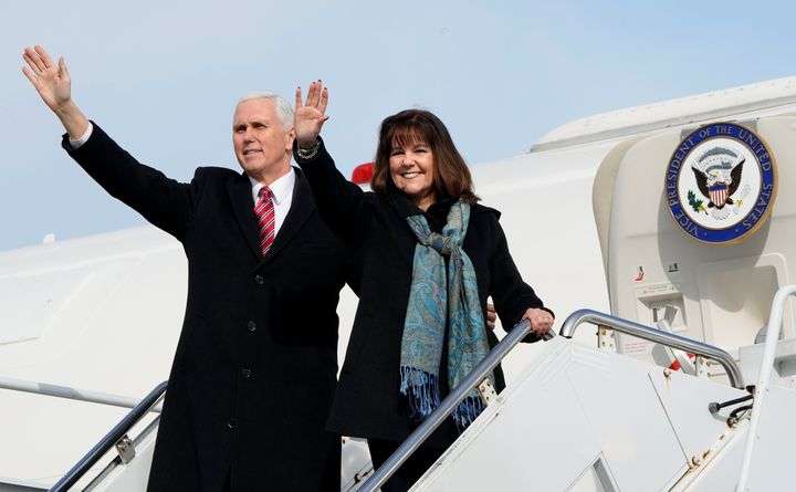 Vice President Mike Pencehas said he won't eat alone with women or attend events where alcohol is served unless his wif