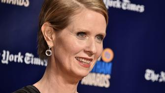 NEW YORK, NY - NOVEMBER 27:  Cynthia Nixon attends IFP's 27th Annual Gotham Independent Film Awards at Cipriani Wall Street on November 27, 2017 in New York City.  (Photo by Steven Ferdman/Patrick McMullan via Getty Images)