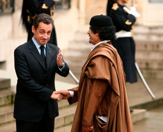 L'ancien dirigeant libyen a financé une partie de la campagne présidentielle de