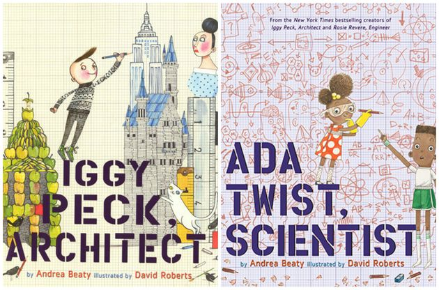 New York Times best-selling author Andrea Beaty is the mind behind Rosie Revere, Engineer; Iggy...
