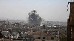 Δεκάδες νεκροί από επίθεση με ρουκέτα σε πολυσύχναστη αγορά στη