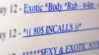 A photo of Erotic Services from Craigslist taken on May 13, 2009.