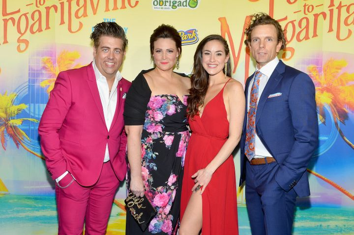 "From left, ""Escape to Margaritaville"" stars Eric Peteren, Lisa Howard, Alison Luff and Paul Alexander Nolan."
