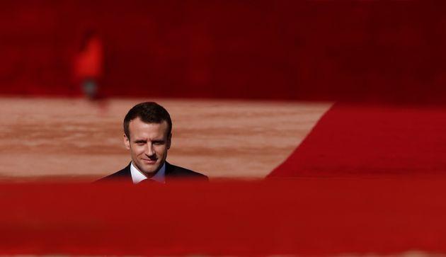 Die Europawahl 2019 im Blick: Frankreichs Präsident Emmanuel