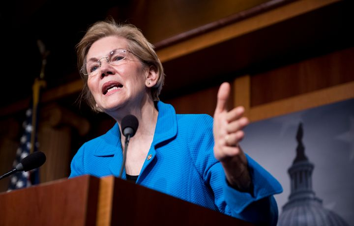 Sen. Elizabeth Warren (D-Mass.) wants to subject health insurance companies to the kind of stringent regulation she has alrea