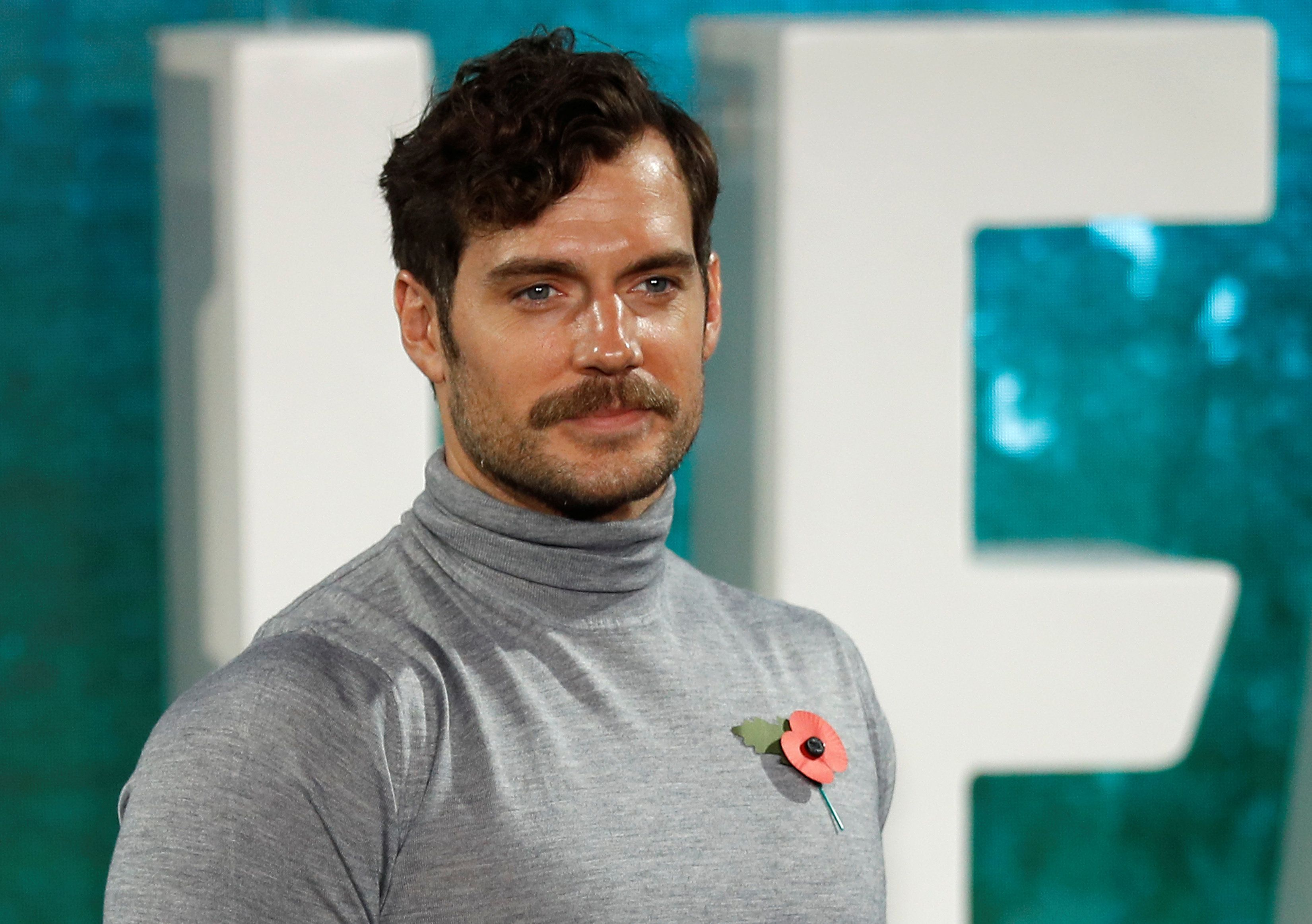 Henry Cavill shaved off his moustache and we're not crying you are!