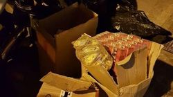 Αστυνομικοί εντόπισαν 4.500 πακέτα λαθραίων τσιγάρων στο