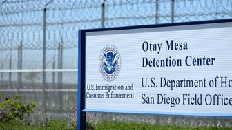 The U.S. Customs and Immigration Otay Mesa Detention facility is shown in Otay Mesa, California, U.S., March 28, 2017.    REUTERS/Mike Blake