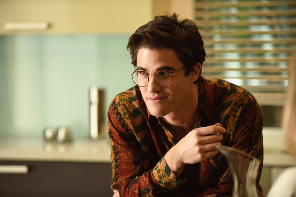"Darren Criss in ""The Assassination of Gianni Versace."""