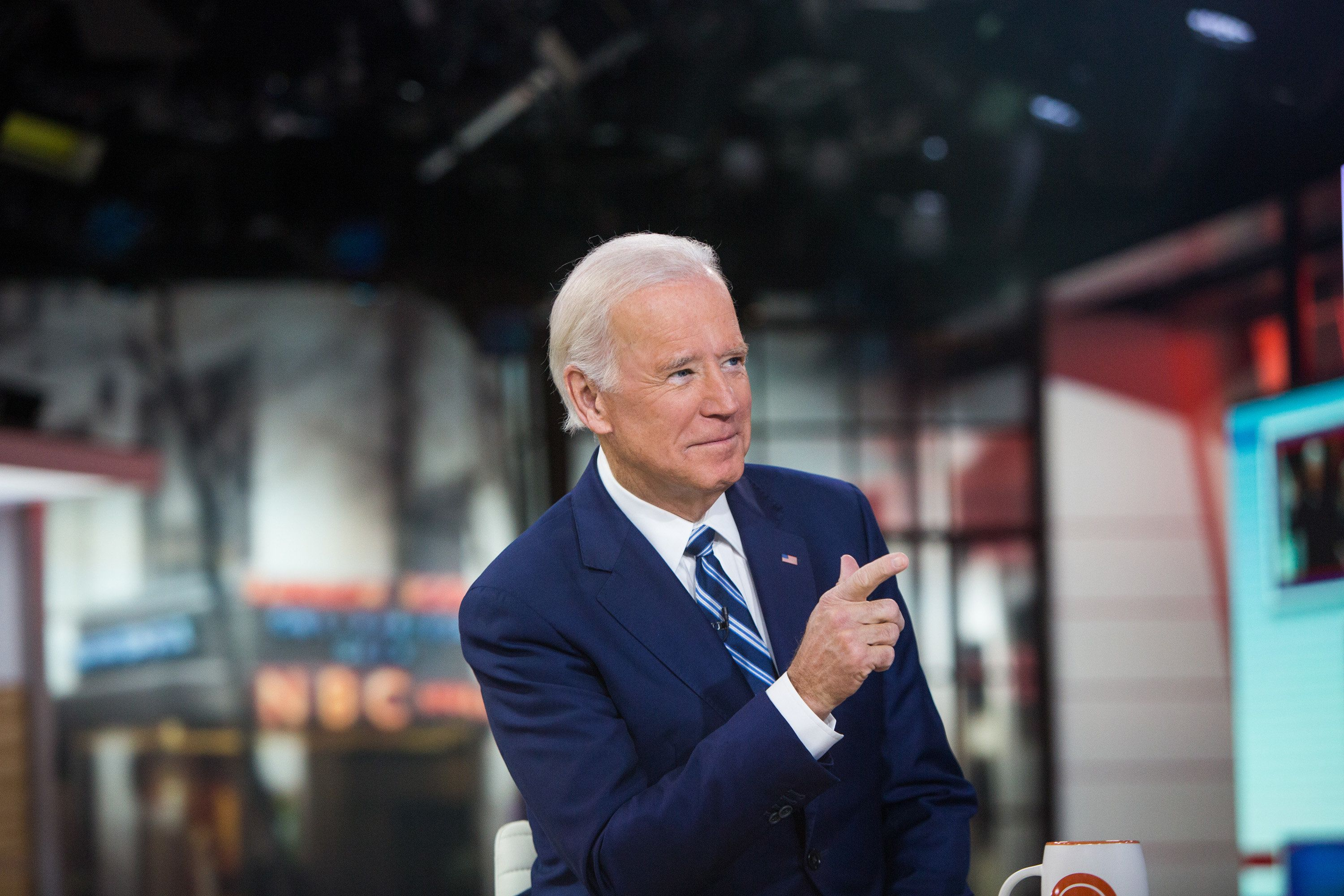 Nathan Congleton  NBC via Getty Images Former Vice President Joe Biden had some Biden-esque words for President Donald Trump