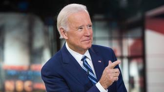 TODAY -- Pictured: Joe Biden on Monday, November 13, 2017 -- (Photo by: Nathan Congleton/NBC/NBCU Photo Bank via Getty Images)