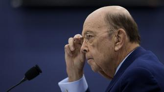 Wilbur Ross, U.S. commerce secretary, listens during a House Appropriations Subcommittee hearing in Washington, D.C., U.S., on Tuesday, March 20, 2018. The U.S. Commerce Department is 'gearing up to be fast, to be fair and to be practical' in considering requests for exclusions for imported products from steel and aluminum tariffs,Ross said. Photographer: Eric Thayer/Bloomberg via Getty Images