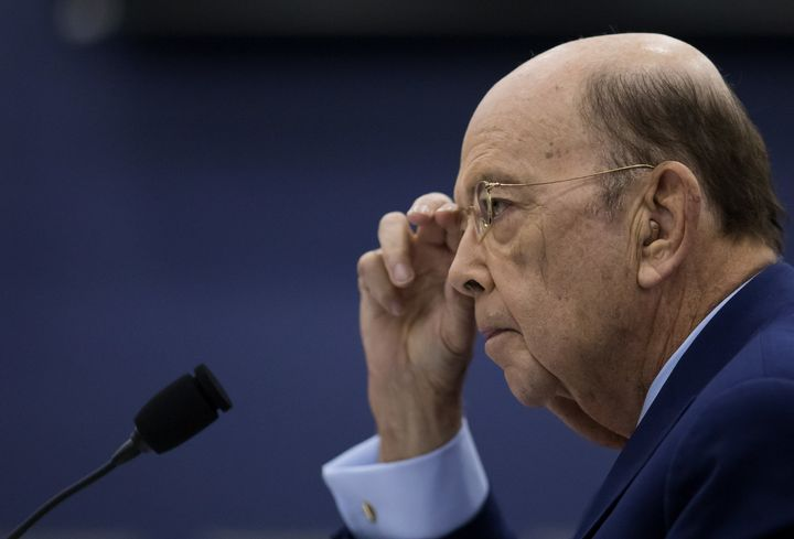 Commerce Secretary Wilbur Ross claims he sold his stake in Diamond S Shipping months ago.