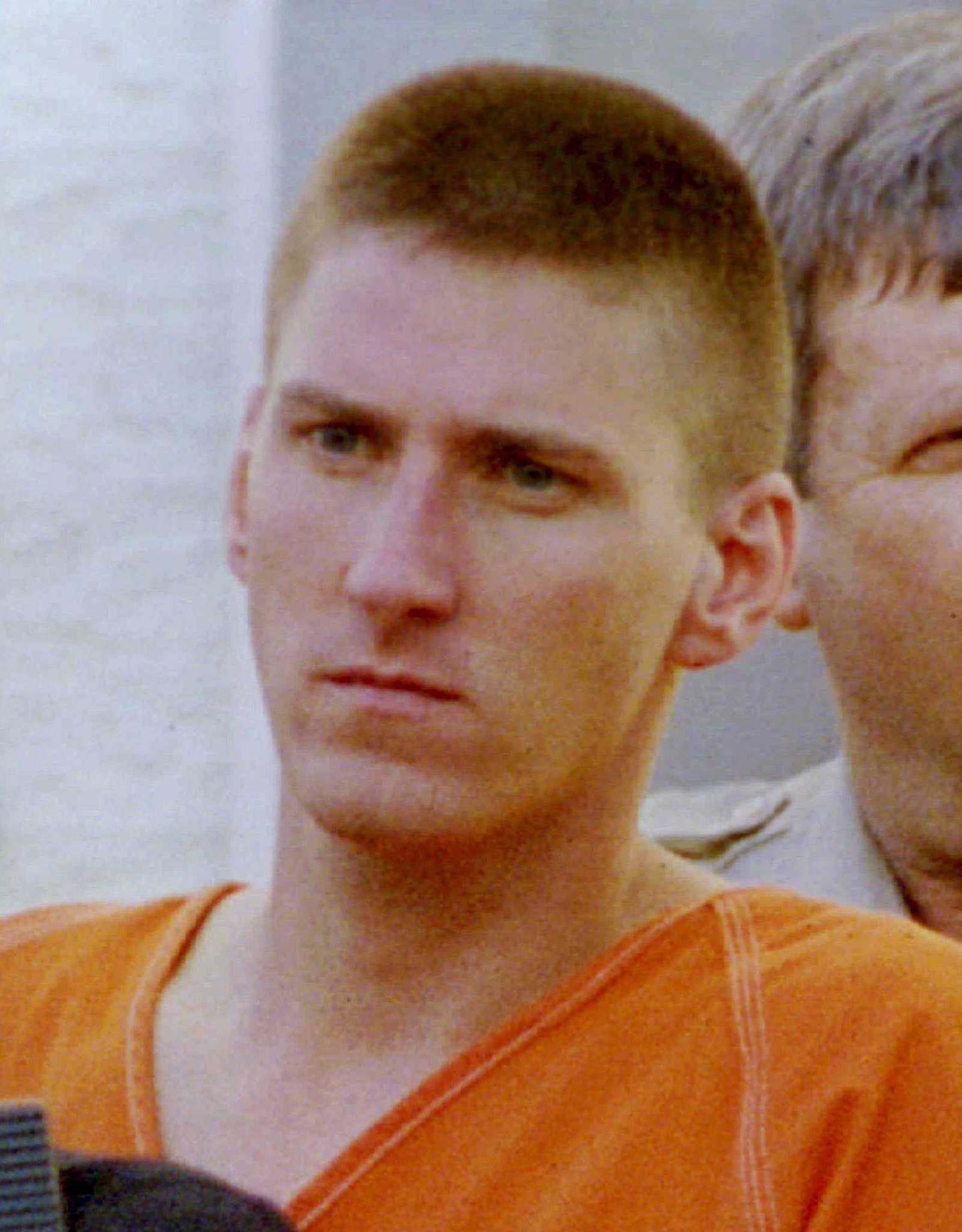 FILE PHOTO 21APR95 - The judge in the Oklahoma City bombing trial rejected Timothy McVeigh's attempt to postpone his trial or move it to a remote location March 17, paving the way for the trial to begin as planned in Denver March 31. Attorneys for McVeigh, pictured in this April 21, 1995 file photo, claimed that prejudicial media coverage would prevent him from getting a fair trial.  USA BLAST