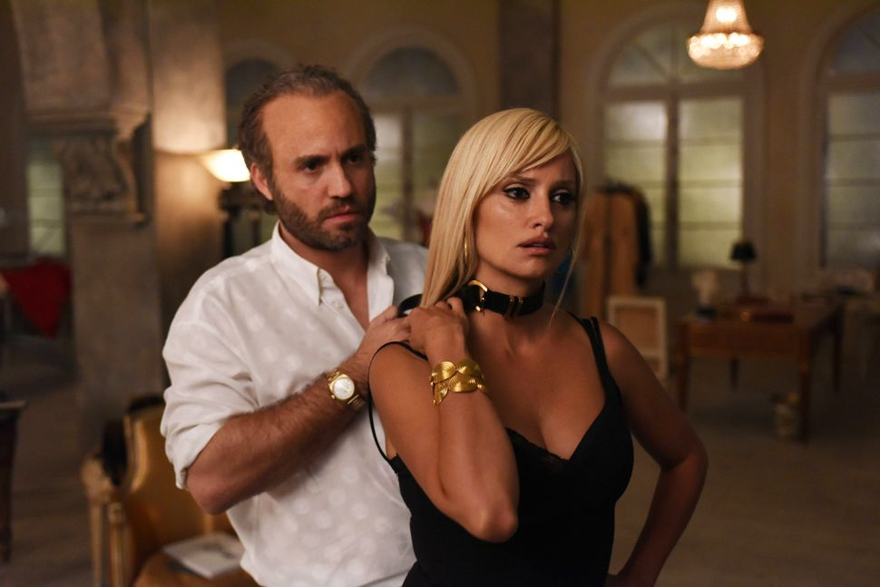 "Édgar Ramírez and Penélope Cruz in ""The Assassination of Gianni Versace."""