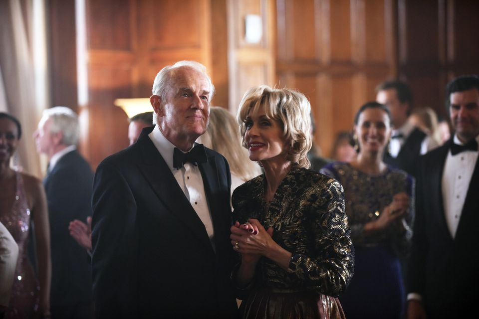 Mike Farrell and Judith Light