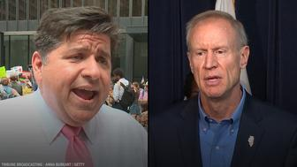 Wealthy businessmen are facing off in Illinois gubernatorial race