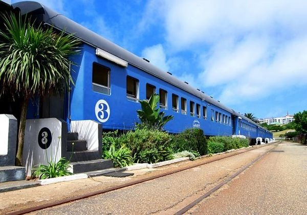 """<a href=""""http://www.santosexpress.co.za/index.php"""" target=""""_blank"""">The Santos Express</a>in Mossel Bay,South Afri"""