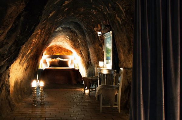 Guests can stay more than 500 feetbelow groundin Sala Silvermine's underground suite inVästmanland, Sw
