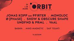 """""""Orbit Festival"""", un festival de musique électronique pour vous emmèner dans les galaxies lointaines, les 23 et 24"""