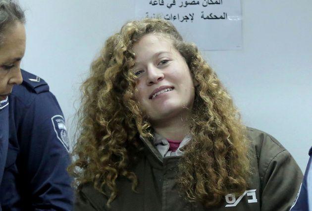 Ahed Tamimi plaide coupable et écope de 8 mois de