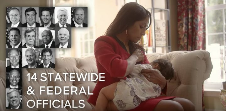 Maryland Governor Candidate Breastfeeds In New Campaign Ad
