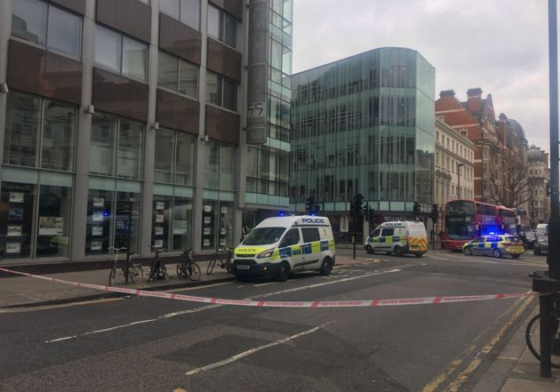 New Oxford Street in central Londonwasclosed and Cambridge Analytica's HQ
