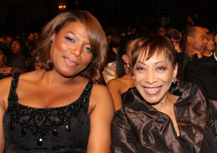 Latifah and her mother, Rita Owens, in 2010.