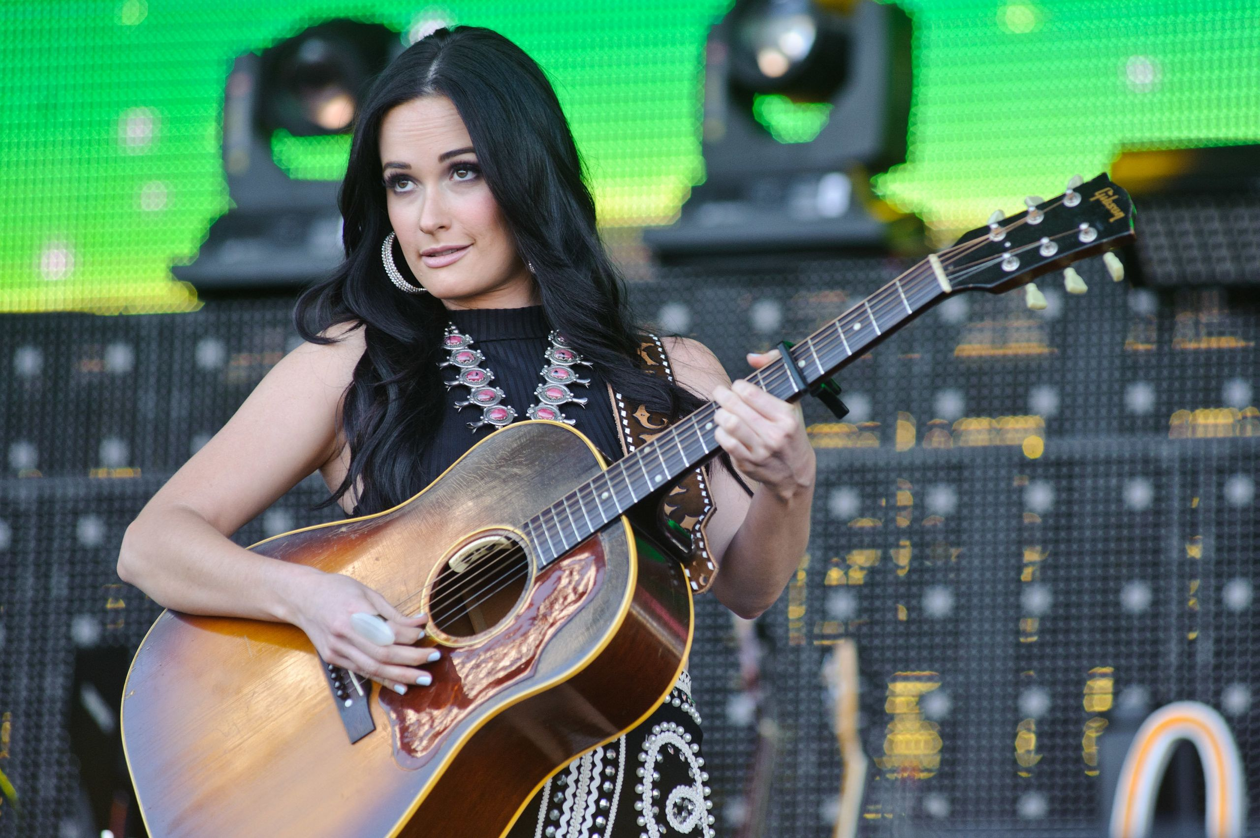 Kacey Musgraves performing in Chicago in 2016.